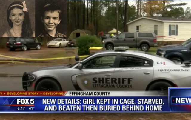 Teenage girl starved, beaten, kept in cage before being buried in back yard next to brother; relatives charged