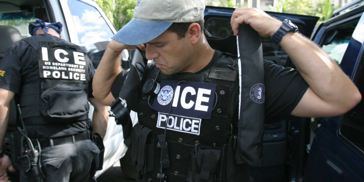 Law and order collapsing in America as Mayors say police can't cooperate with ICE raids