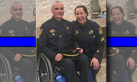 This Cop Was Shot, Died Twice And Left Paralyzed, He Says It's Time