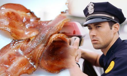 PETA Attacks Police Officer – Cop Calls For Bacon Backup