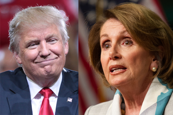 Trump Just Got Pelosi and Other Dems To Regret Sanctuary Cities – President, 1 – Nancy, 0.