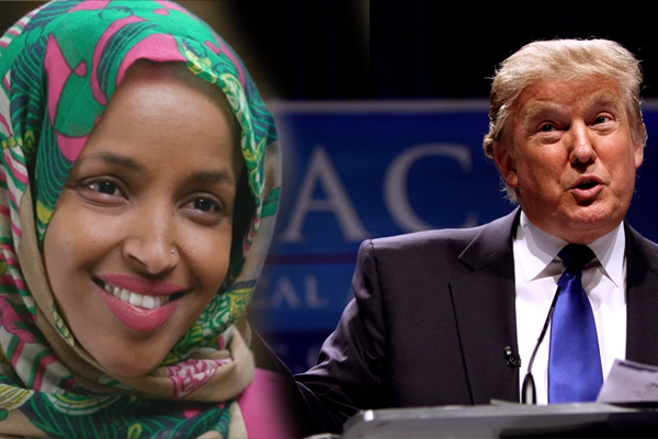 "Rep. Omar Calls Wall ""Monument To Racism"", Says Trump Lying About ""Fake Emergency"" At Border"