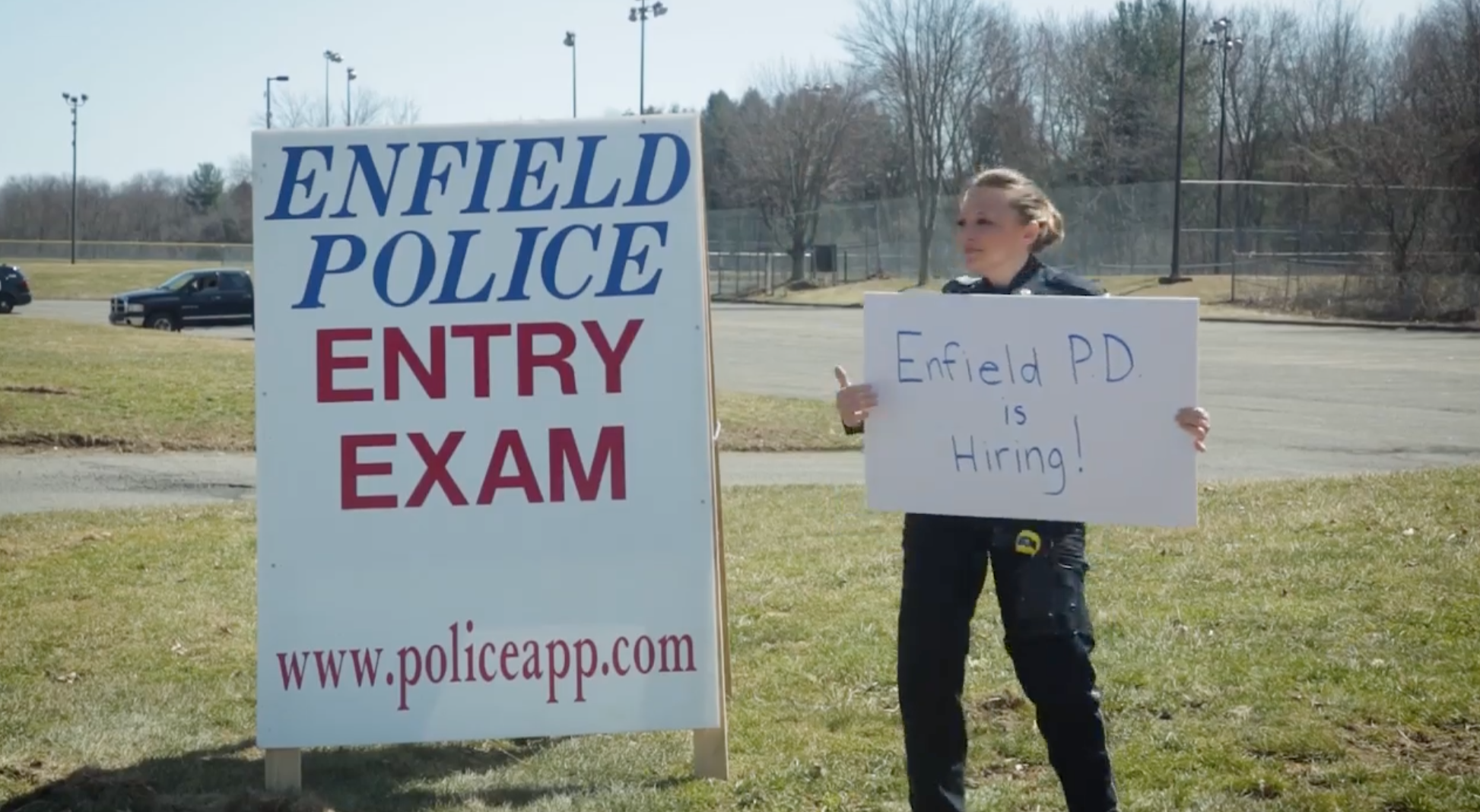 Enfield Police Department Recruiting