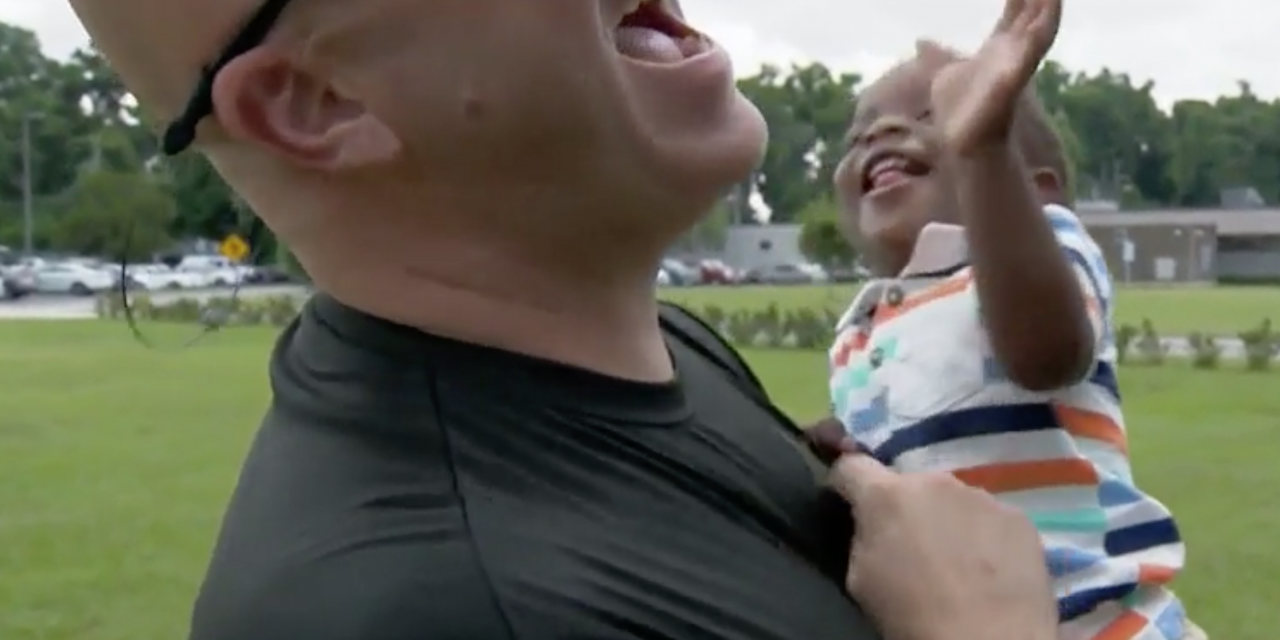 This Officer Saved A Choking Baby.  Then He And His Wife Became The Baby's Godparents.