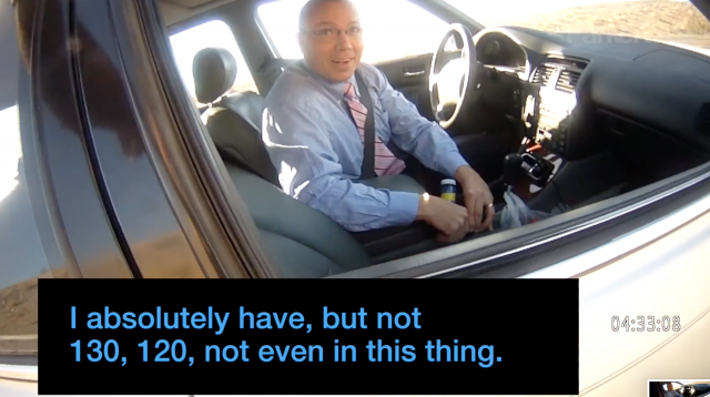 Cop Pulls Over Politician at Almost 100mph, Is Told He Can't Give Him A Ticket