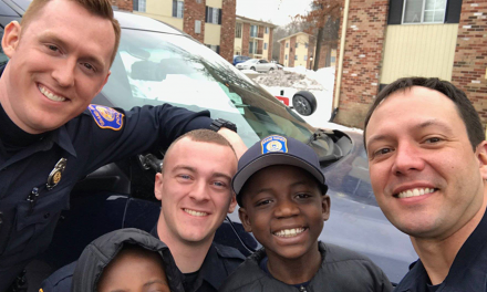Police Show Up to Party to Give Bullied Boy 'The Best Birthday Ever'