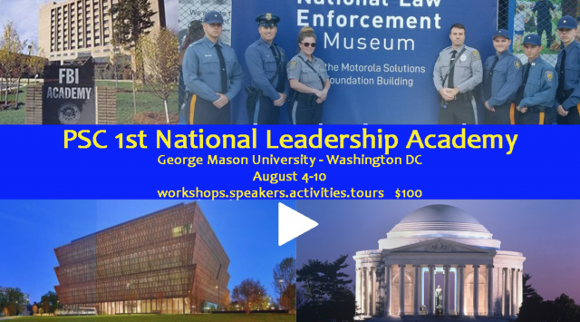 Public Safety Cadets: The Future of Law Enforcement in America