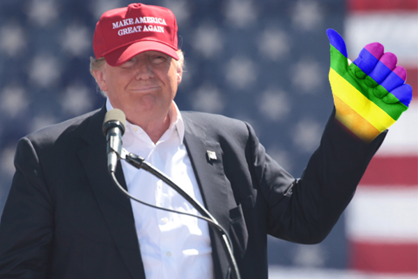LGBTQ Groups Attack Trump's Campaign To End Criminalization of Homosexuality – Huh?