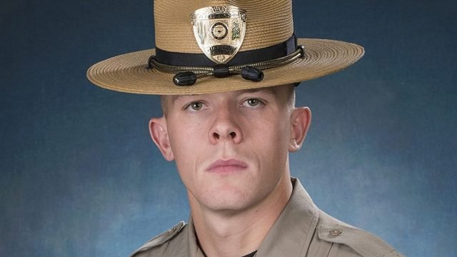 Arizona Department of Public Safety Trooper Tyler Edenhofer was killed in the line of duty in July 2018. The 24-year-old was a veteran of the US Navy. (Arizona Department of Public Safety)