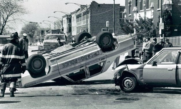 They shot at me. I flipped my car. And I still love those policing memories.