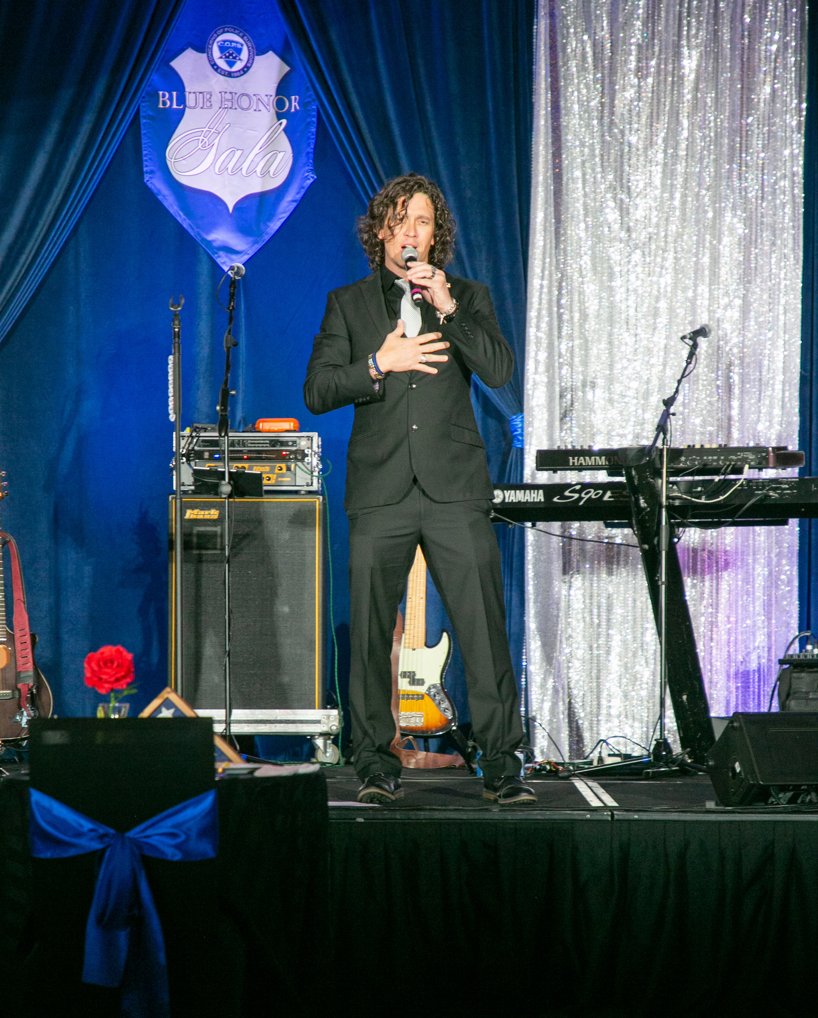 Dave Bray performs Last Call at C.O.P.S. Blue Honor Gala