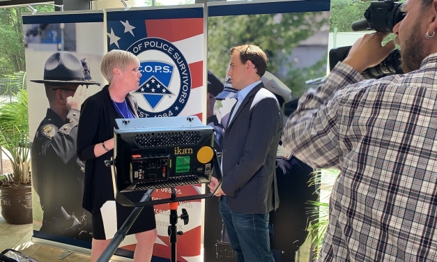 Behind-the-scenes at Police Week with C.O.P.S. and Fox and Friends