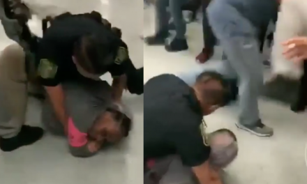WATCH: Student Kicks Officer in the Face During Arrest