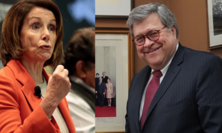 'Did you bring your handcuffs?' AG Barr Trolls Pelosi at National Police Week