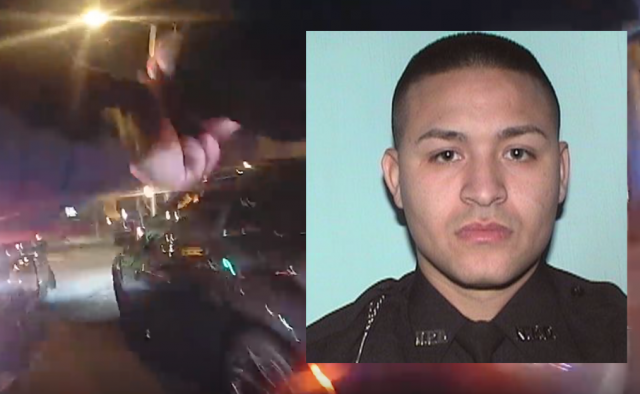 Indicted: Cop faces charges following car chase and deadly shootout