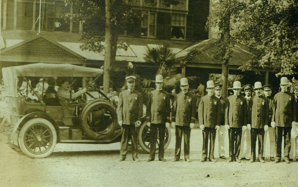 old school police