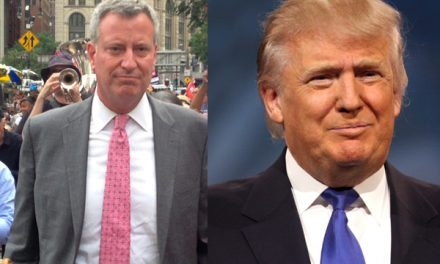 Outrageous.  De Blasio goes full anti-cop in bid to beat President Trump.