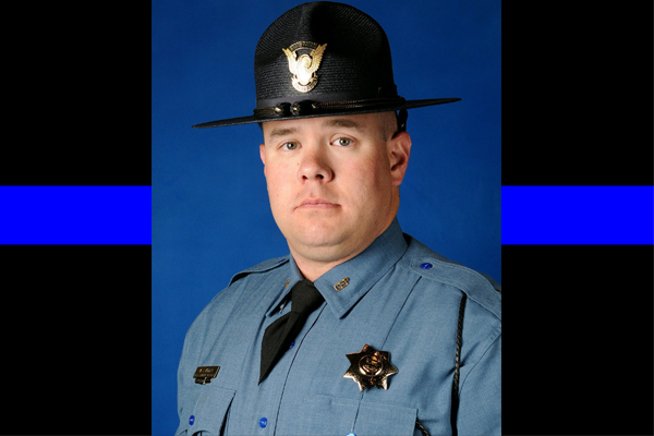 Hero Down: State trooper killed while helping woman and her toddler in rollover crash
