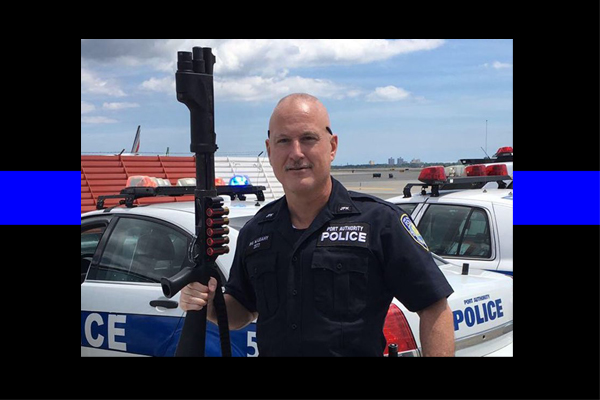 Police Officer William Leahy, who reminded colleagues of stoic western star John Wayne died at his parents' home on Thursday — one month after what many hoped would be a life saving surgery, friends said. He was 49.