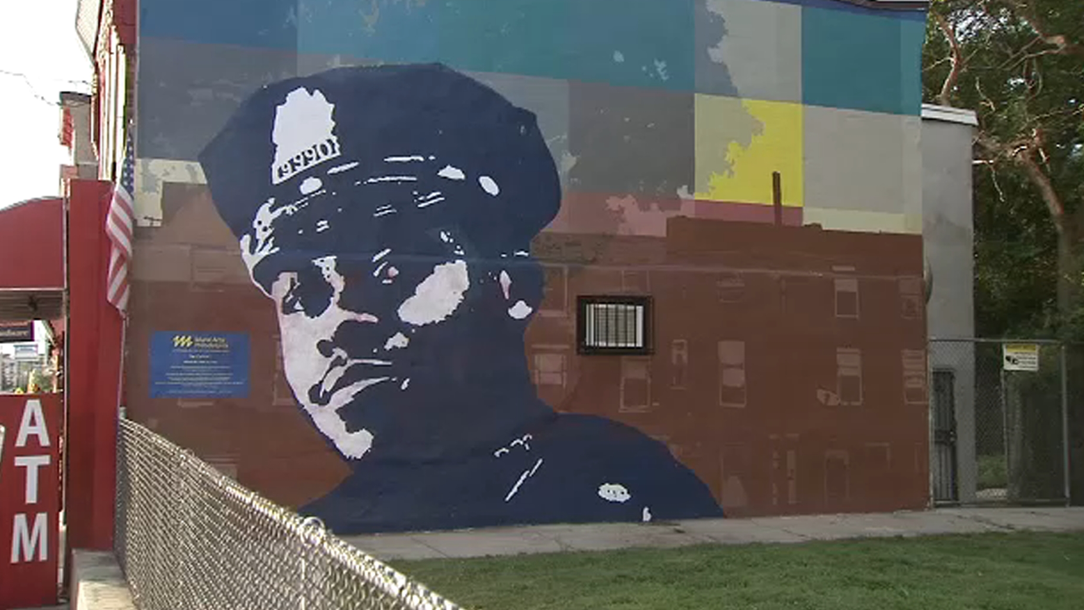 Coward defaces memorial of murdered officer - $10k reward offered to find them