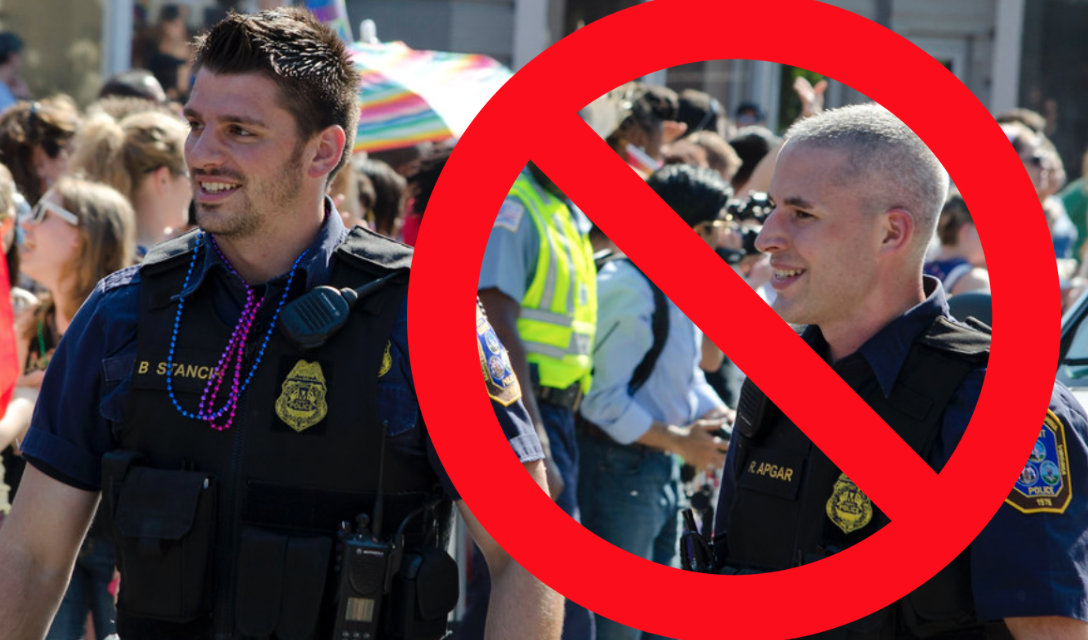 Inclusive exclusion: Officers disinvited from PRIDE events if wearing uniform