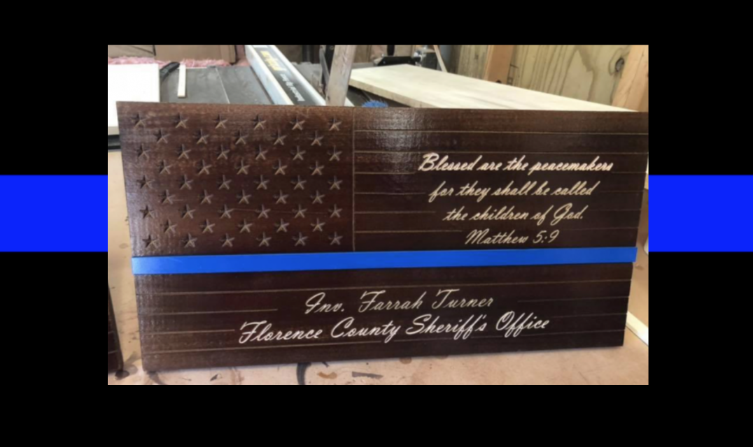 This paramedic is making memorials for fallen officers and he needs our help