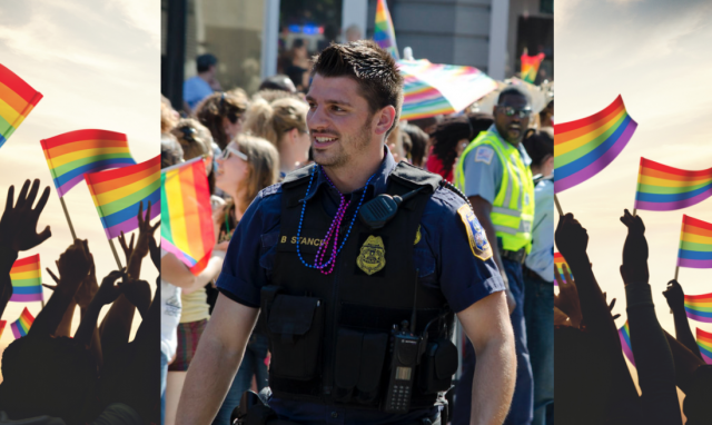 After support from the Blue Family, uniformed officers allowed to march in PRIDE parade