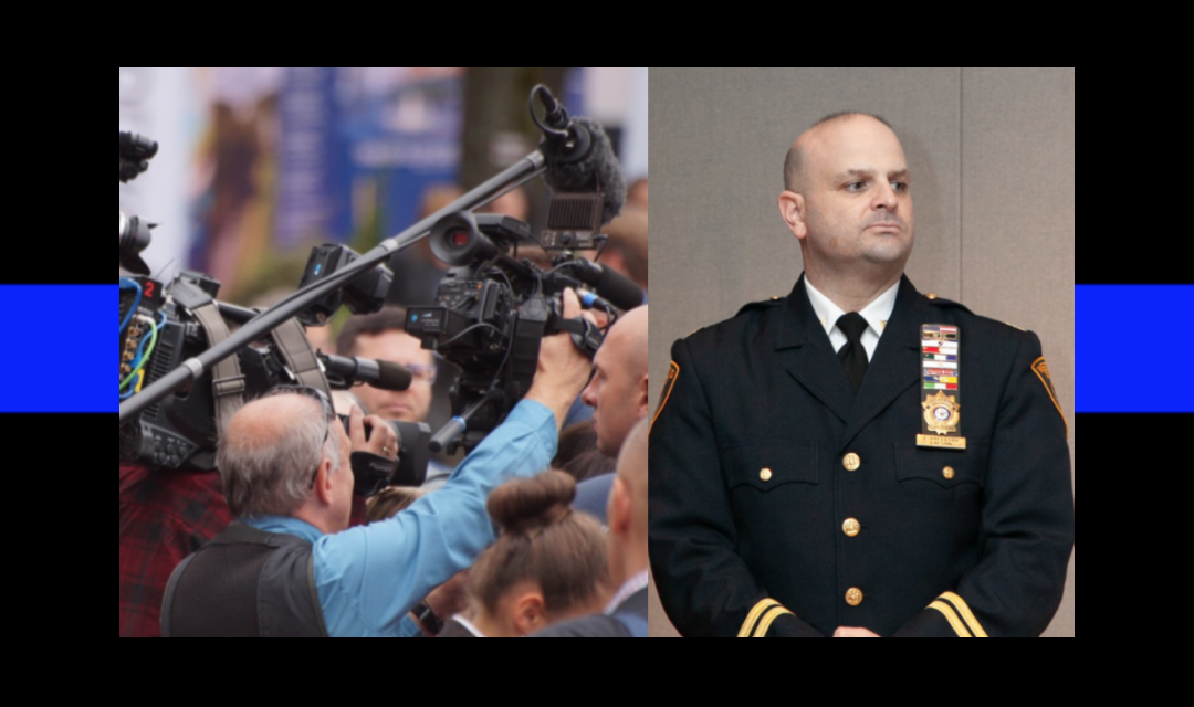Chief to angry media: I don't work for you. I work for the people.