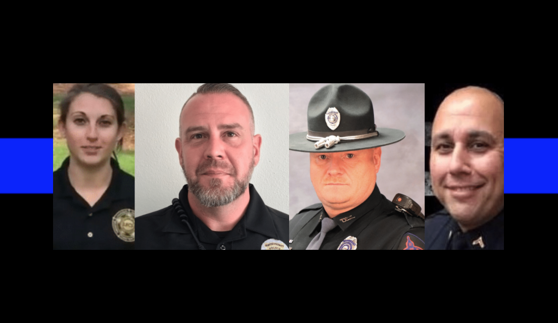 Enough: 4 officers killed in the line of duty in the last 7 days