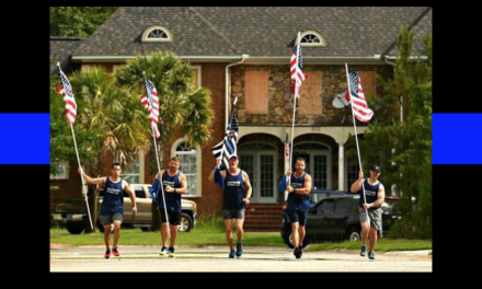 Not Forgotten: Inside the crew that ran almost 400 miles to honor fallen officers