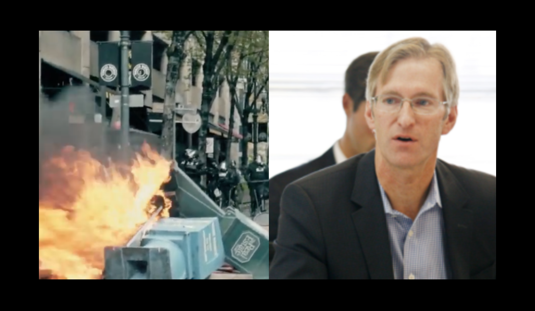 Portland mayor under fire for failure to stop multiple violent antifa protests