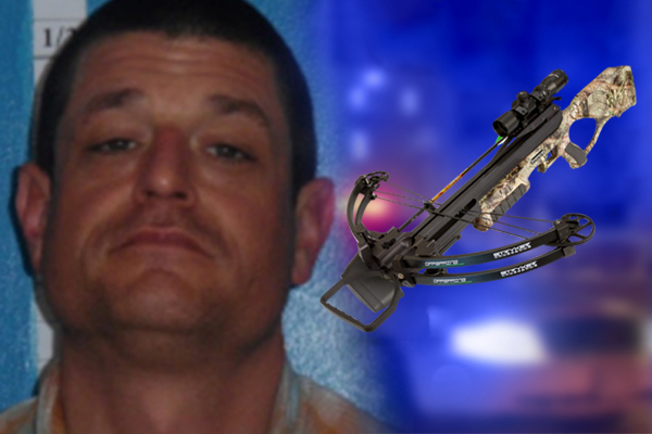 Deputy shot in face with crossbow, returns fire and takes out threat