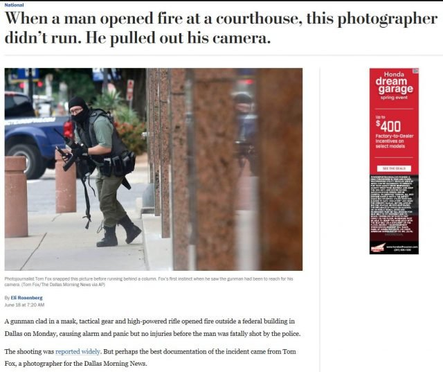 Authorities took out a shooter with no lives lost. Why didn't the media give them any credit?