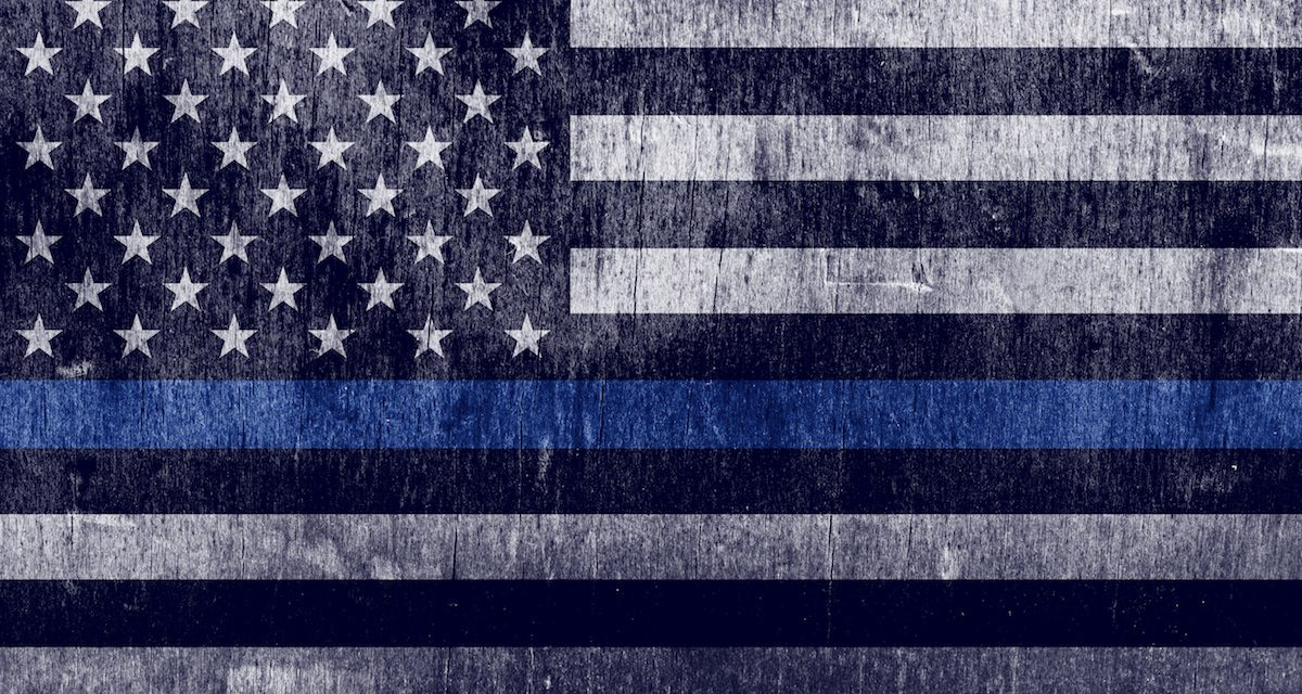 They want to make the Blue Lives Matter flag a symbol of racism. We won't let them.