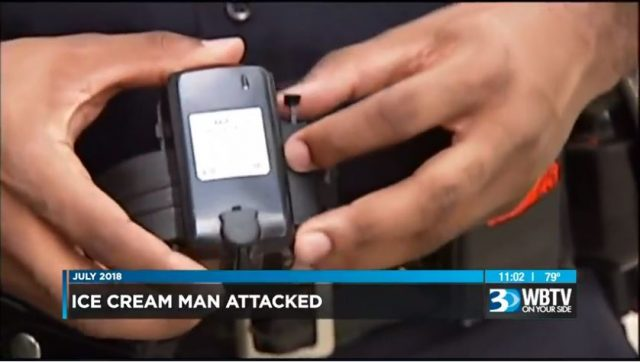 At the time of the assaults on Tuesday night, Romell Mackay was already fitted with an electronic ankle bracelet for armed robbery and larceny.