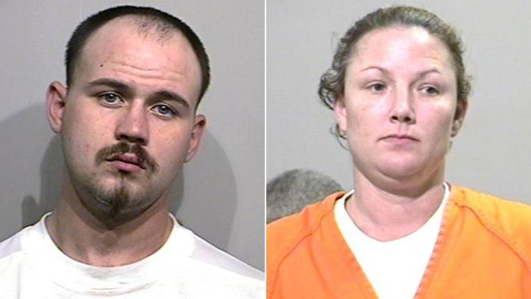 Brandon Stansel, 36, and Kelly Brumley, 40