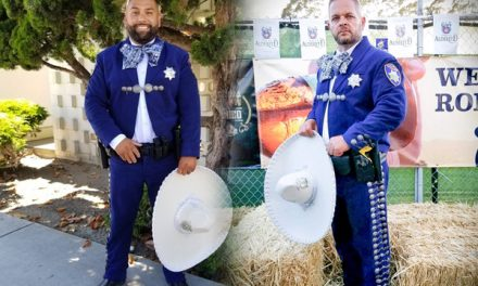 Officers wear Mexican Charro suits instead of police uniforms – good idea or bad?