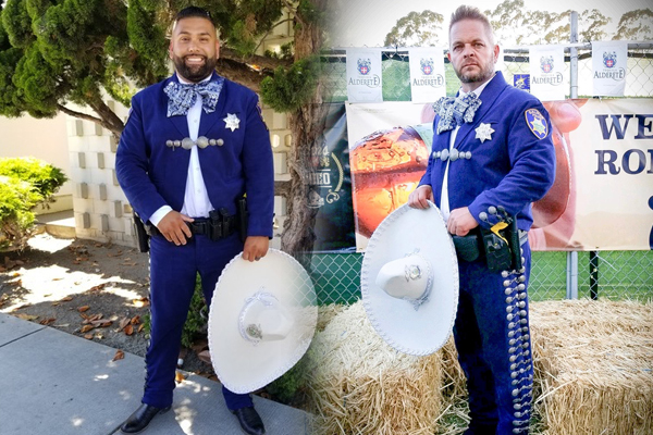 Police Wear Mexican Charro Suits to Connect With Community