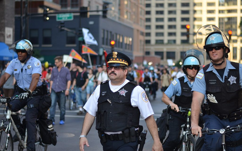 Chicago PD: You want to kill our citizens?  Here comes a wave of blue.
