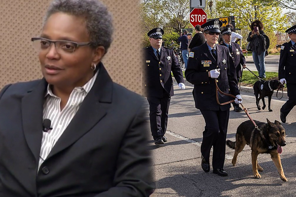 Chicago Mayor Lori Lightfoot Chicago PD