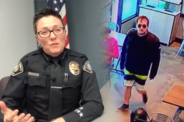 Police Chief: Dear America, I left my gun in the restaurant potty.  I think this dude took it?