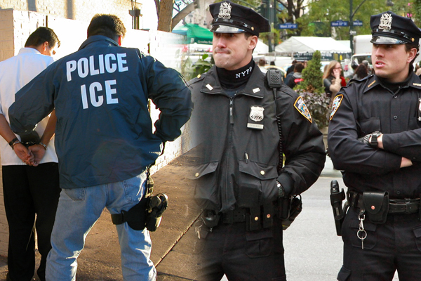 PBA to cops: Screw the politicians.  Protect our brothers and sisters at ICE at all costs.