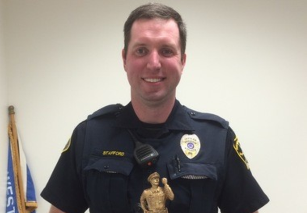 Officer Cullen Stafford in 2017