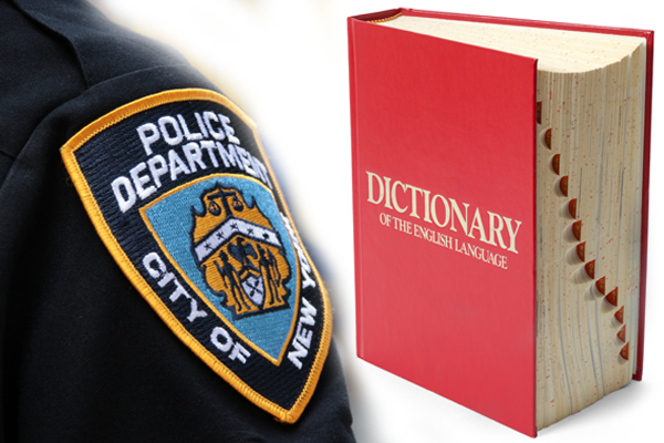 """Police roll out list of """"offensive"""" phrases people should avoid using"""