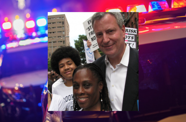 NYC Mayor Bill de Blasio's son says he's 'in fear' of police