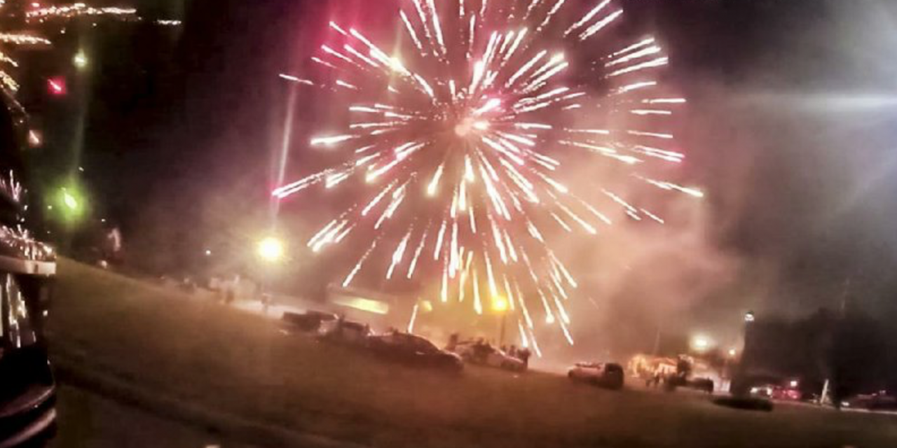 "Video: residents shoot explosives at police and paramedics in ""fireworks war"""