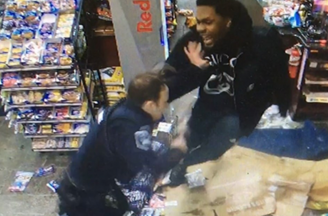 Video shows insane fight between cop and entitled NFL player