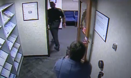 Security guard draws down on deputy: I'm the sheriff in these parts