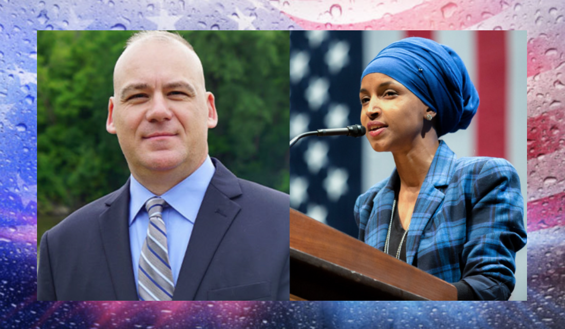 Veteran cop to Rep. Ilhan Omar: I'm coming for your seat in 2020