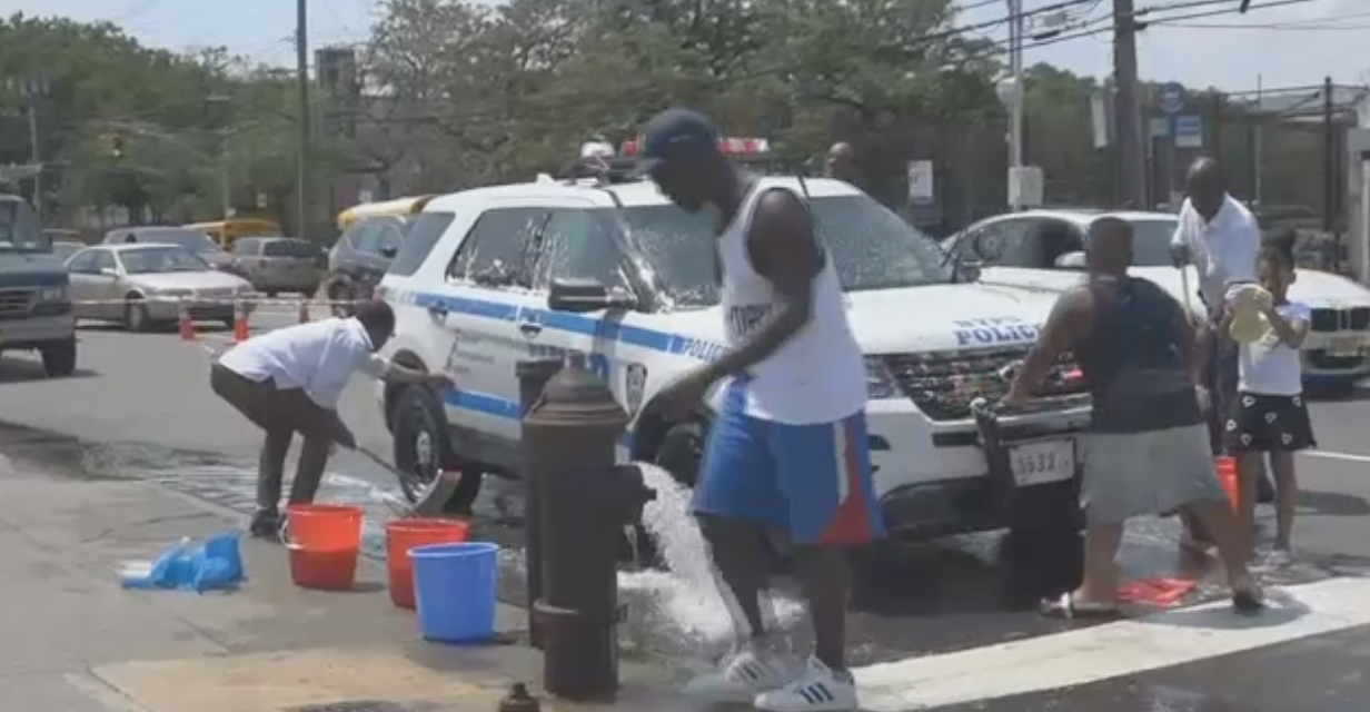 From assault to appreciation: New Yorkers give NYPD cruisers a new shine